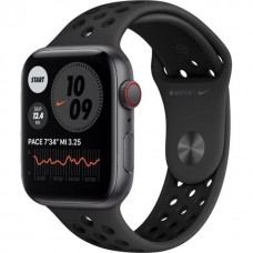 Apple Watch Nike SE GPS + Cellular 44mm Space Gray Aluminum Case w. Anthracite/Black Nike Sport Band (MG063)