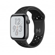 Apple Watch  Series 4  Nike+ 44mm GPS + Cellular Space Gray Aluminum Case with Anthracite/Black Nike Sport Band (MTXE2)