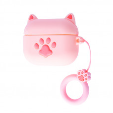 Чехол Cat Foot Case for AirPods Pro (pink)