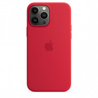 Чехол для Apple iPhone 13 Pro Max Silicone Case with MagSafe - (PRODUCT)RED (MM2V3)