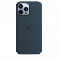 Чехол для смартфона Apple iPhone 13 Pro Max Silicone Case with MagSafe - Abyss Blue (MM2T3)