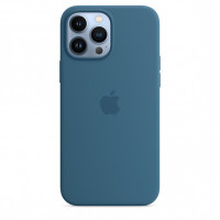 Чехол для смартфона Apple iPhone 13 Pro Max Silicone Case with MagSafe - Blue Jay (MM2Q3)