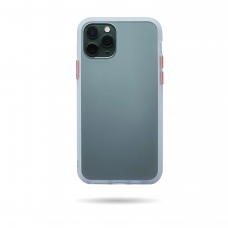 Matte Skin Case iPhone 11 Pro White