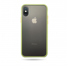 Matte Skin Case iPhone XS dark green