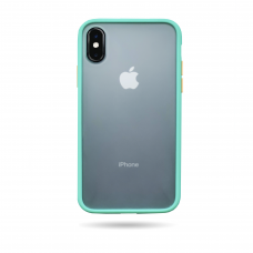 Matte Skin Case iPhone XS light  green