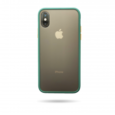 Matte Skin Case iPhone XS Pine green (midnight green)